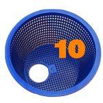 10 baskets